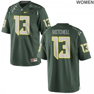 Dillon Mitchell UO Jerseys Ladies Game Jerseys - Green