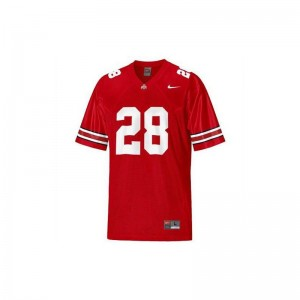 Dominic Clarke Player Jersey OSU Buckeyes Game For Men - Red