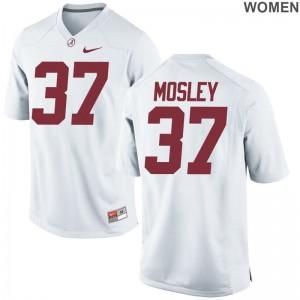Donavan Mosley Alabama Crimson Tide Jersey Women Limited - White
