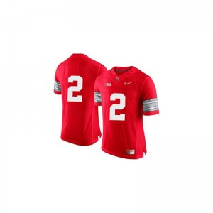 Ohio State Buckeyes Dontre Wilson Jerseys Mens Game Jerseys - Red Diamond Quest Patch
