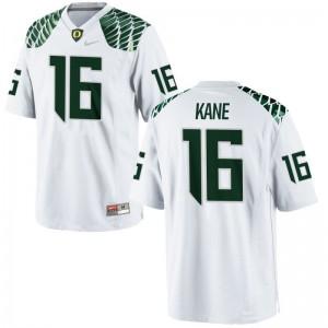Dylan Kane Oregon Game For Men White Player Jersey