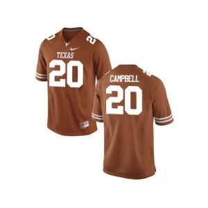 University of Texas Men Game Orange Earl Campbell Jersey