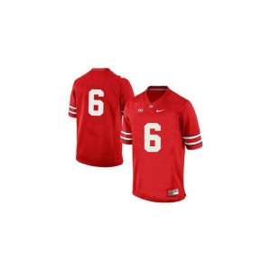 Ohio State Buckeyes Evan Spencer College Jerseys For Men Red Game Jerseys
