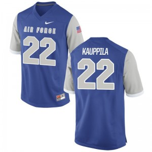 USAFA High School Garrett Kauppila Game Jersey Royal Men