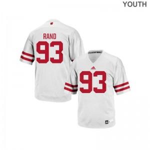 Wisconsin Badgers Garrett Rand Kids Replica Jerseys White