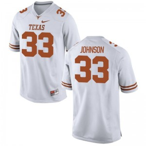 University of Texas Gary Johnson High School Jersey White Mens Game Jersey
