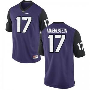 TCU College Jerseys Grayson Muehlstein Game Men - Purple Black
