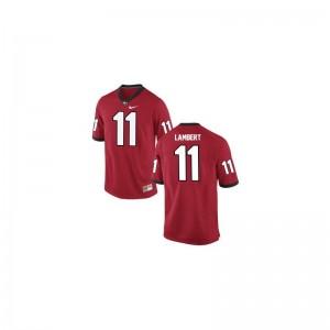 For Men Greyson Lambert Jersey Football Red Game UGA Bulldogs Jersey