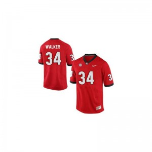 Georgia Bulldogs Game Herschel Walker For Men Red Football Jerseys