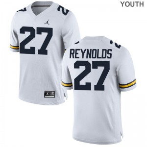 promo code 98ead 92ed4 Limited Hunter Reynolds Jerseys University of Michigan Jordan White Youth  ...