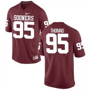 Oklahoma Isaiah Thomas Jerseys Men Crimson Limited Jerseys