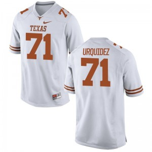 J.P. Urquidez Texas Longhorns Jersey Game Men White Jersey