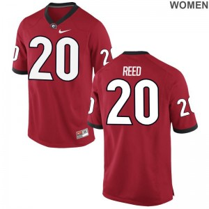 Georgia J.R. Reed Jerseys Limited Red Womens