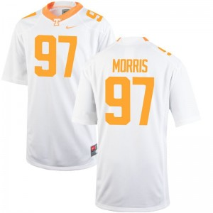 Jackson Morris Tennessee Volunteers Ladies Limited White Player Jerseys