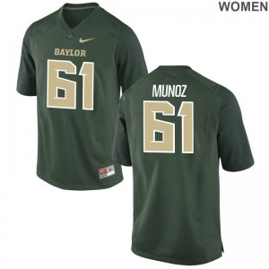 Ladies Green Game Miami Jerseys Jacob Munoz