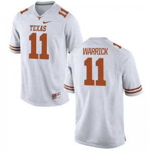 Texas Longhorns Ladies Limited White Jacorey Warrick Jerseys S-2XL