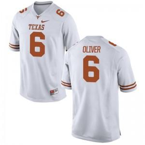 Jake Oliver Texas Longhorns Jersey S-3XL Limited For Men - White