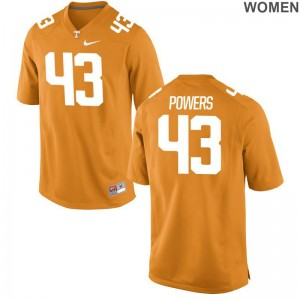 Tennessee Jake Powers Jersey S-2XL Limited Orange Womens