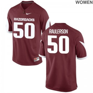 Jake Raulerson Jerseys S-2XL Arkansas Ladies Limited - Cardinal
