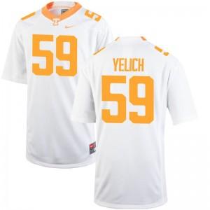 Jake Yelich Tennessee Vols Jerseys Limited Men Jerseys - White
