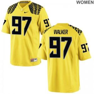 Jalontae Walker For Women Jerseys S-2XL Game UO - Gold