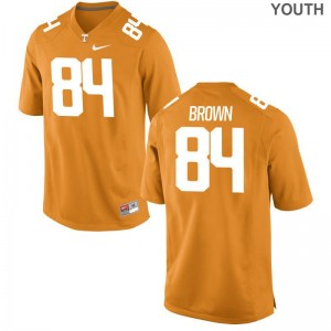 Tennessee James Brown NCAA Jerseys Limited Orange Kids
