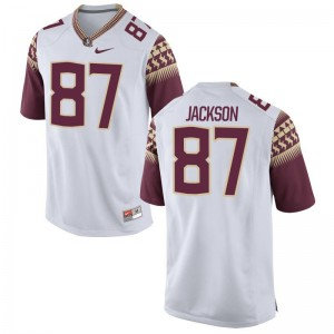 FSU Jared Jackson Game For Men College Jersey - White
