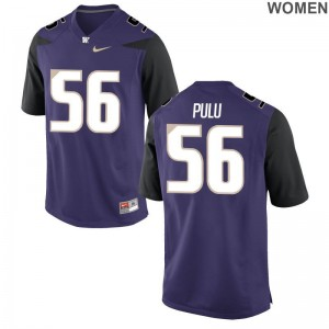Purple Game For Women Washington Jerseys Jared Pulu