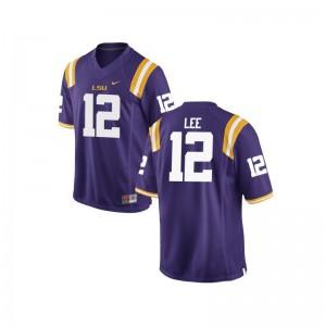 Jarrett Lee Tigers Jerseys Men Limited - Purple