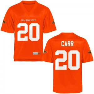 Jeff Carr Oklahoma State Cowboys NCAA Jerseys Game Orange Ladies