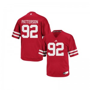 Authentic For Women Red UW High School Jersey Jeremy Patterson