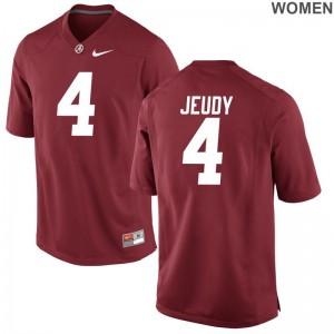 Alabama Jerry Jeudy Jerseys Limited Womens - Red