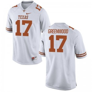 University of Texas Football Jerseys Jimmy Greenwood Ladies White Limited