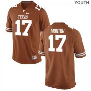 UT Jimmy Morton Jerseys Limited Youth(Kids) Orange Jerseys