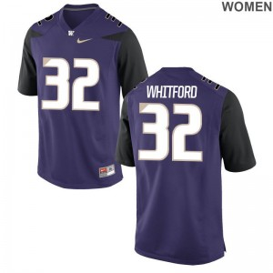 Purple Joel Whitford Jersey S-2XL UW Limited Womens