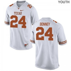 White John Bonney Jersey S-XL Texas Longhorns Youth Limited