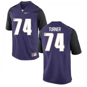UW Jerseys John Turner Purple Men Game