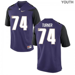 UW Jersey John Turner Game For Kids - Purple