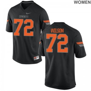 OK State Johnny Wilson Jersey S-2XL Limited Womens Black