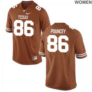 UT Jordan Pouncey Jersey S-2XL Women Orange Limited