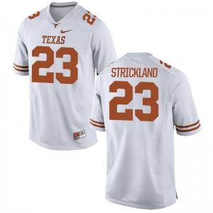 UT Game White For Men Jordan Strickland Jerseys