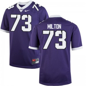 Youth Limited Texas Christian Jerseys of Jozie Milton - Purple