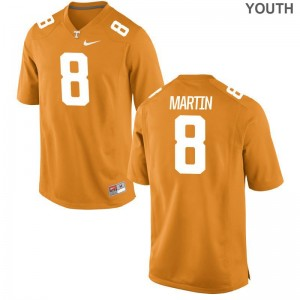 Justin Martin Tennessee Vols Player Jersey Youth(Kids) Game Jersey - Orange