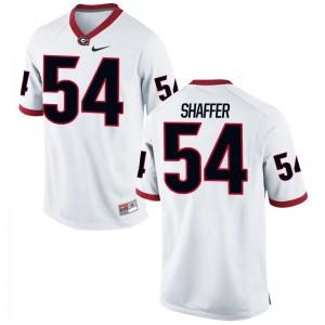 White Game Justin Shaffer Alumni Jerseys Mens UGA