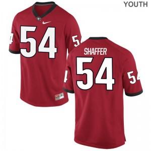 Justin Shaffer Youth Jerseys S-XL UGA Game - Red