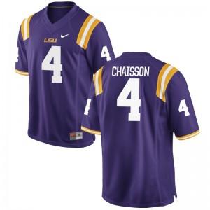 K'Lavon Chaisson LSU Football Jerseys Game Mens Jerseys - Purple