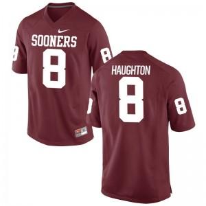 Crimson Limited For Men Oklahoma College Jerseys of Kahlil Haughton