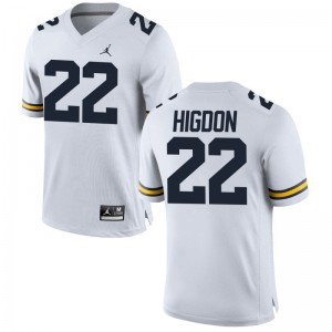 S-3XL Wolverines Karan Higdon Jerseys For Men Game Jordan White Jerseys