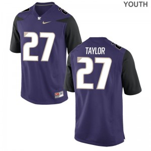 UW Keith Taylor Game Youth(Kids) Jerseys S-XL - Purple