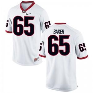 UGA Kendall Baker Jersey White Men Limited